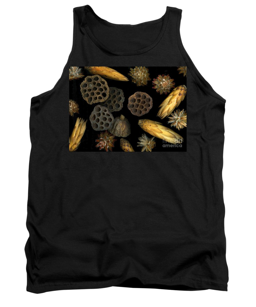 Pods Tank Top featuring the photograph Seeds And Pods by Christian Slanec