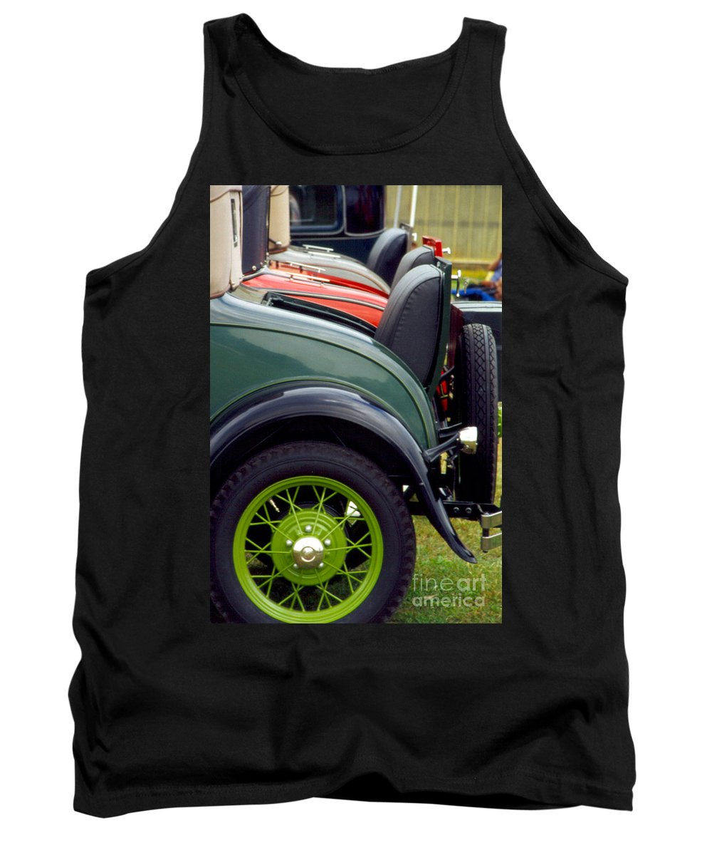 Aged Tank Top featuring the photograph Seen Not Heard by Alan Look
