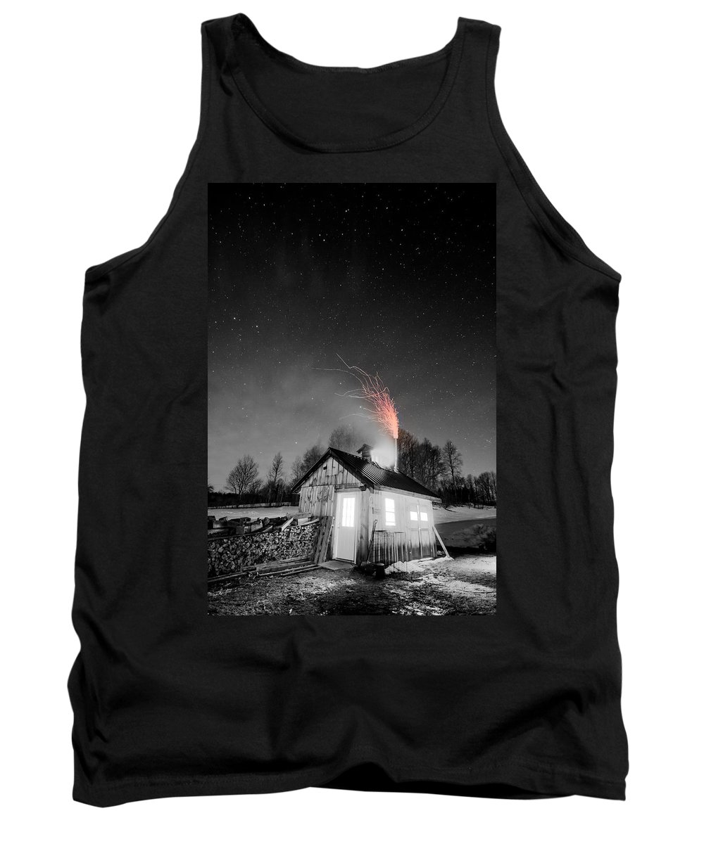 Vermont Tank Top featuring the photograph Selective Fire by Tim Kirchoff