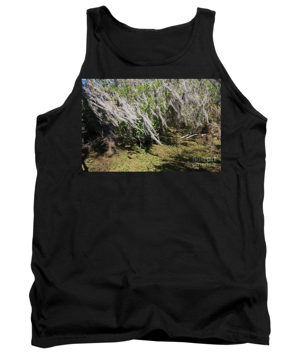 Windy Tank Top featuring the photograph Seminole Wind by Carol Groenen