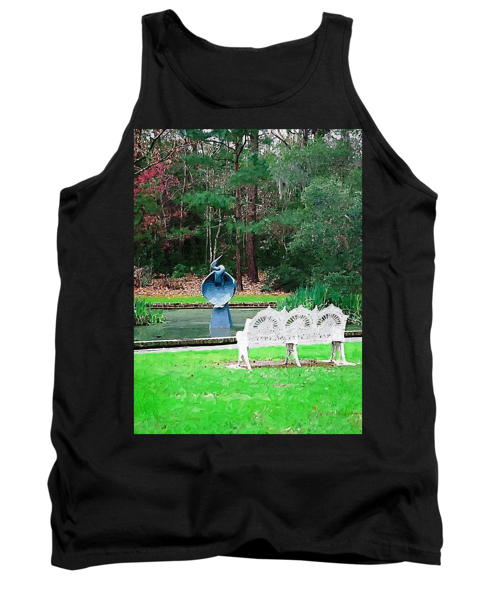 Tank Top featuring the photograph Serene by Donna Bentley