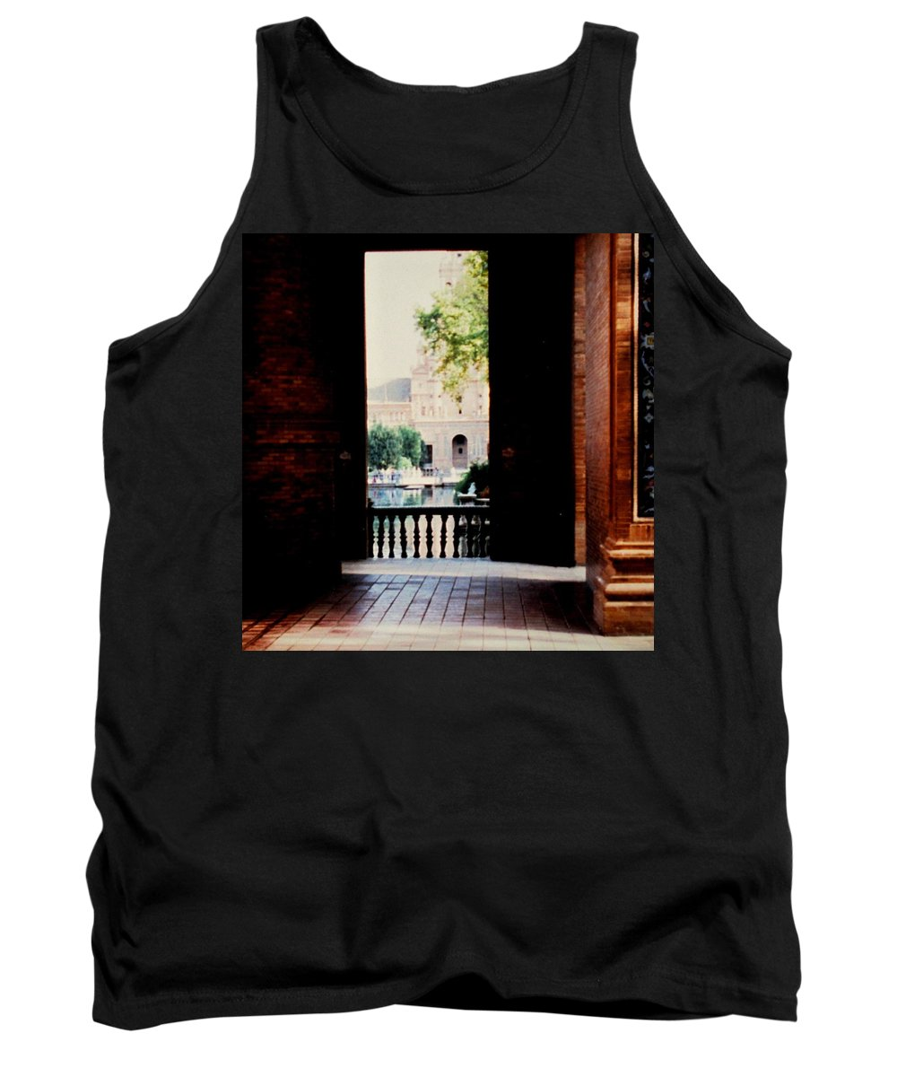 Seville Tank Top featuring the photograph Seville by Ian MacDonald