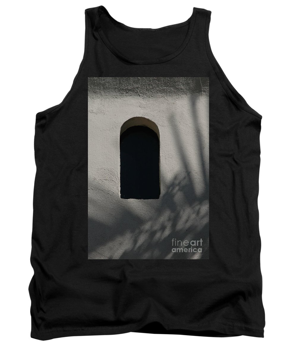 Window Tank Top featuring the photograph Shadows On The Wall by Michael Ziegler