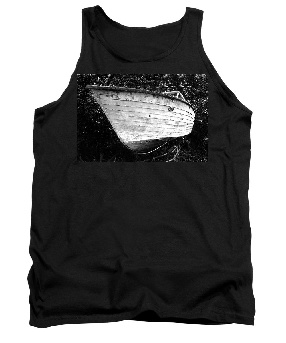 Photography Tank Top featuring the photograph She Once Was Fast by Frederic A Reinecke