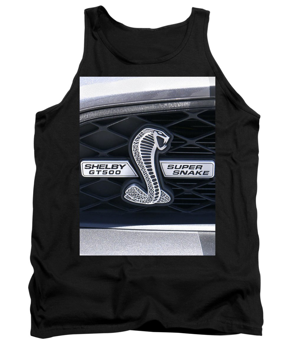 Transportation Tank Top featuring the photograph Shelby Gt 500 Super Snake by Mike McGlothlen