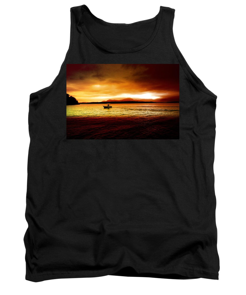 Landscape Tank Top featuring the photograph Shores Of The Soul by Holly Kempe