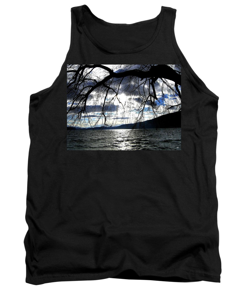 Sunset Tank Top featuring the photograph Silver Sunset by Will Borden
