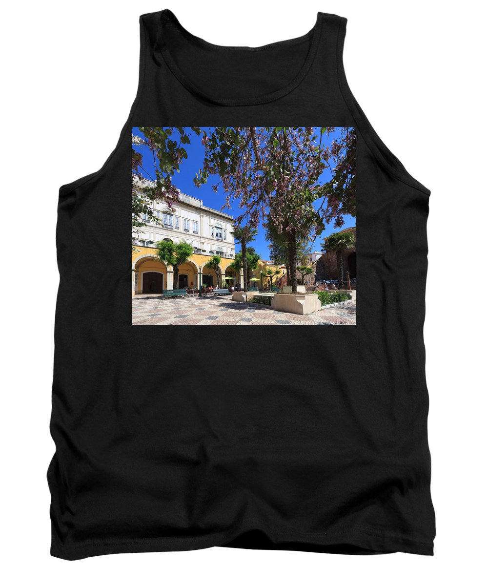 Silves Tank Top featuring the photograph Silves In Spring by Louise Heusinkveld