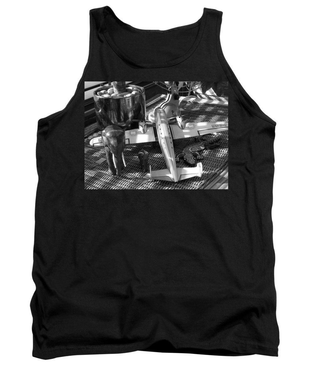Still Life Tank Top featuring the photograph Skycruiser by Charles Stuart