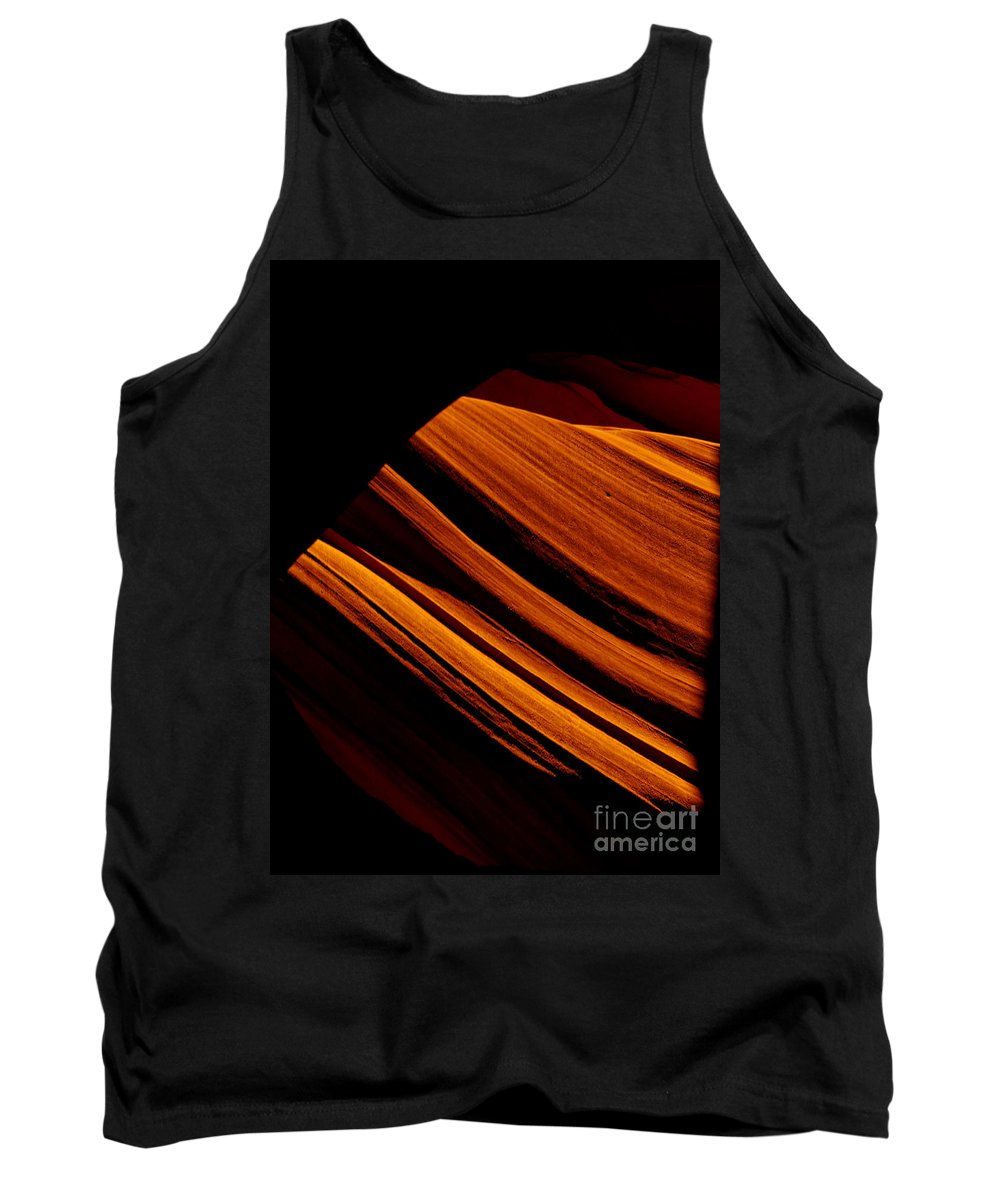 Slot Canyon Tank Top featuring the photograph Slot Canyon Striations by Scott Sawyer