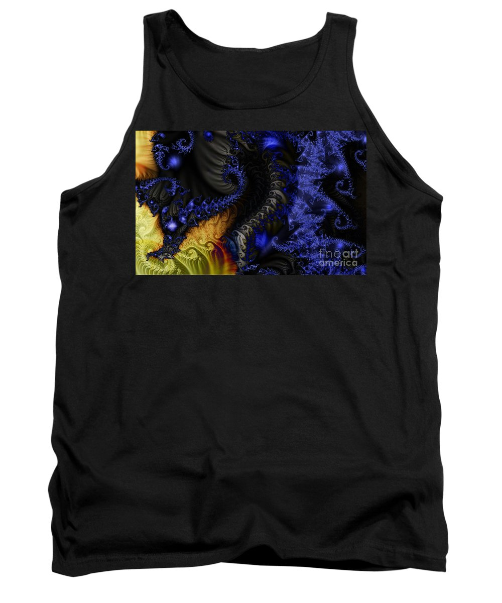 Clay Tank Top featuring the digital art Social Classes by Clayton Bruster