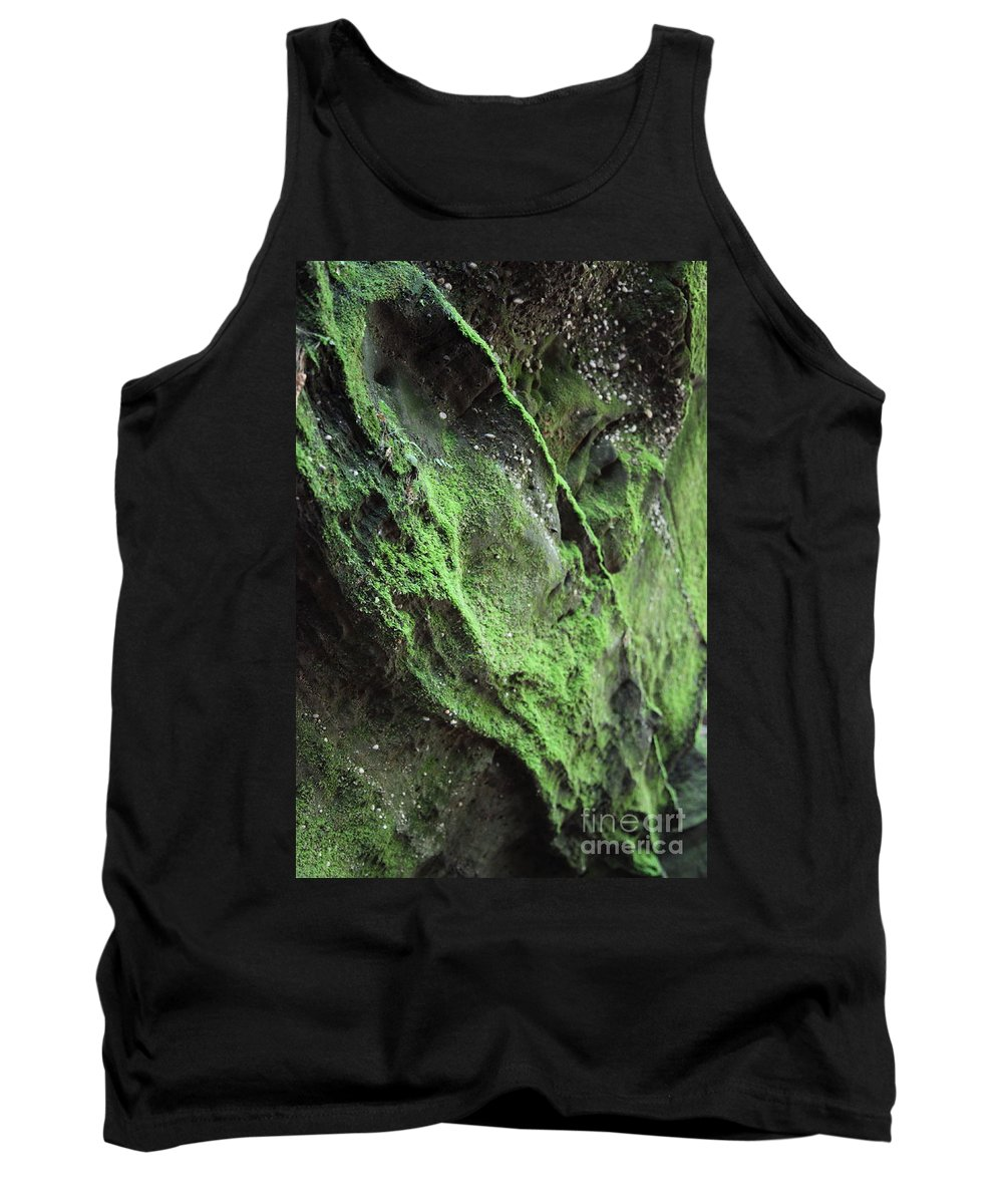 Rocks Tank Top featuring the photograph Soften The Moment by Amanda Barcon