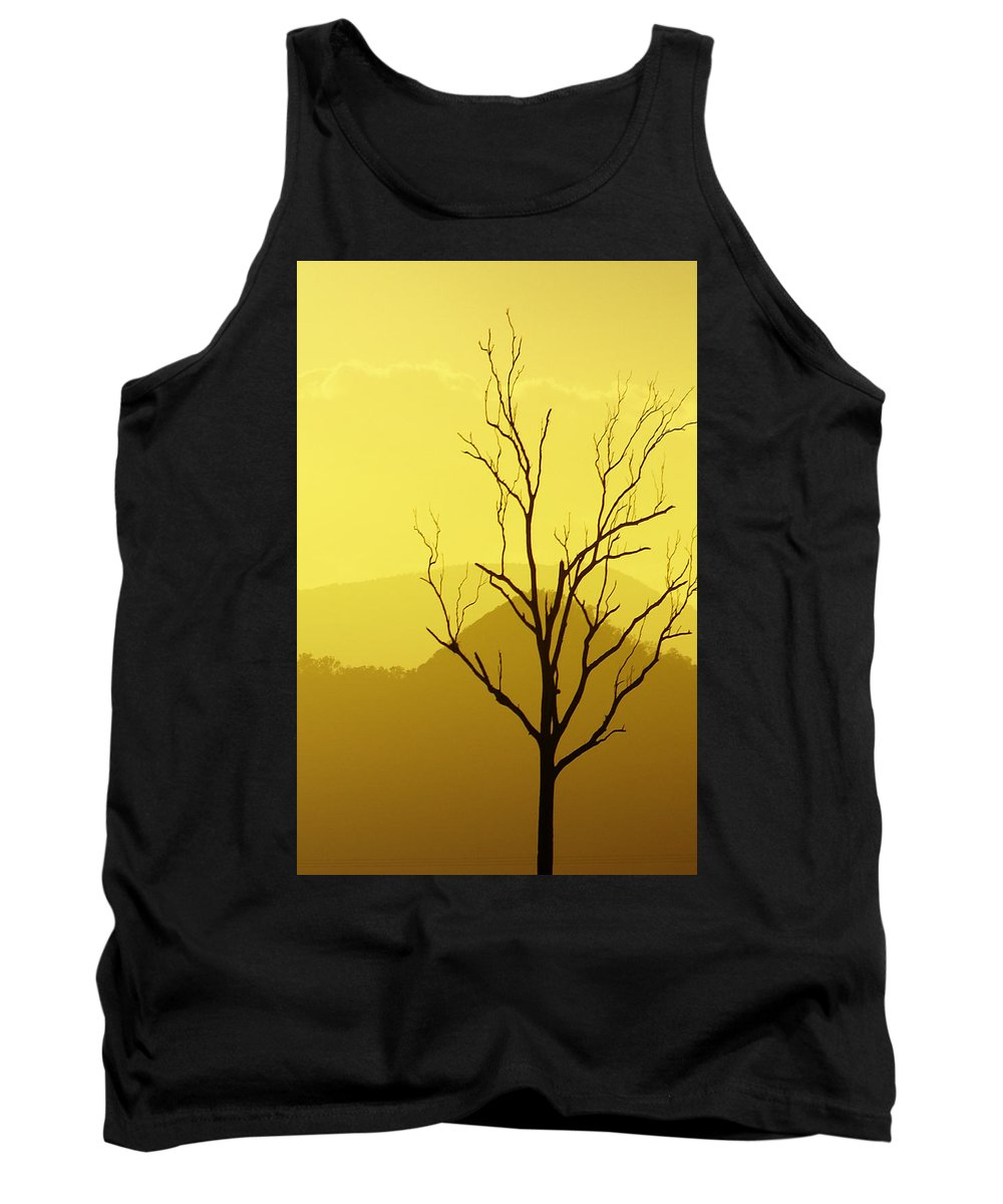 Landscape Tank Top featuring the photograph Solitude by Holly Kempe