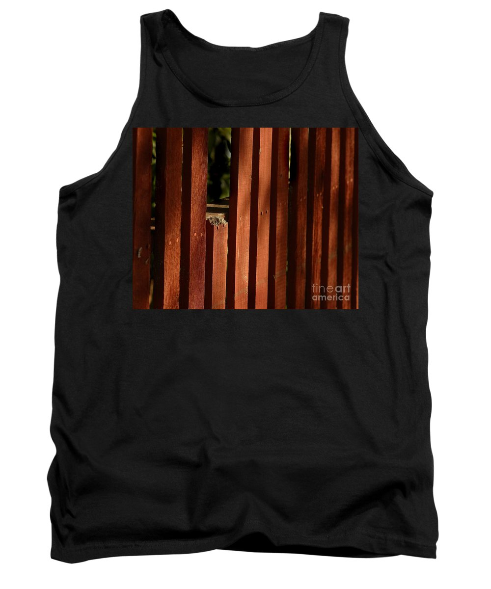 California Scenes Tank Top featuring the photograph Somethin's Missing by Norman Andrus