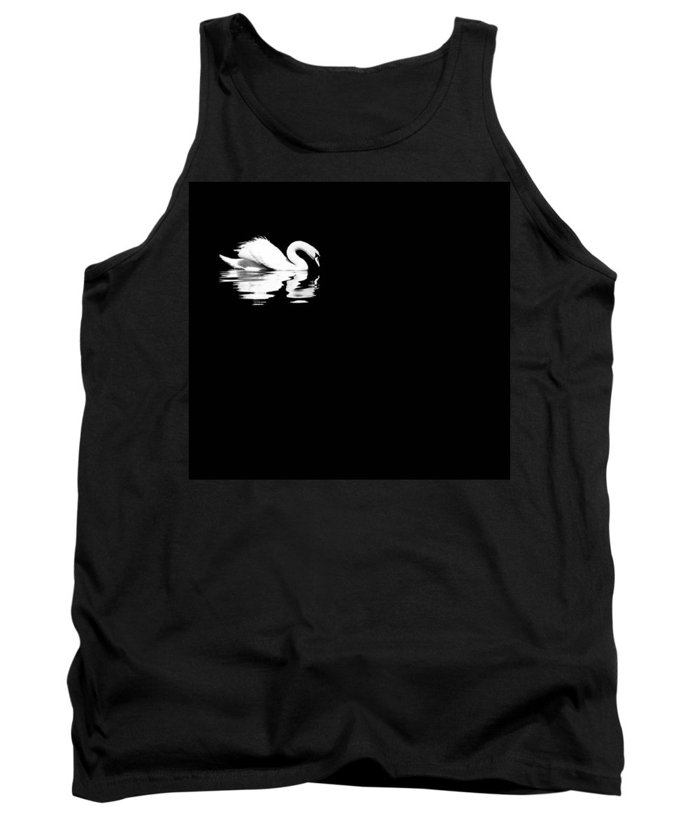 Swan Tank Top featuring the photograph Song Of Songs I by Deb Cohen