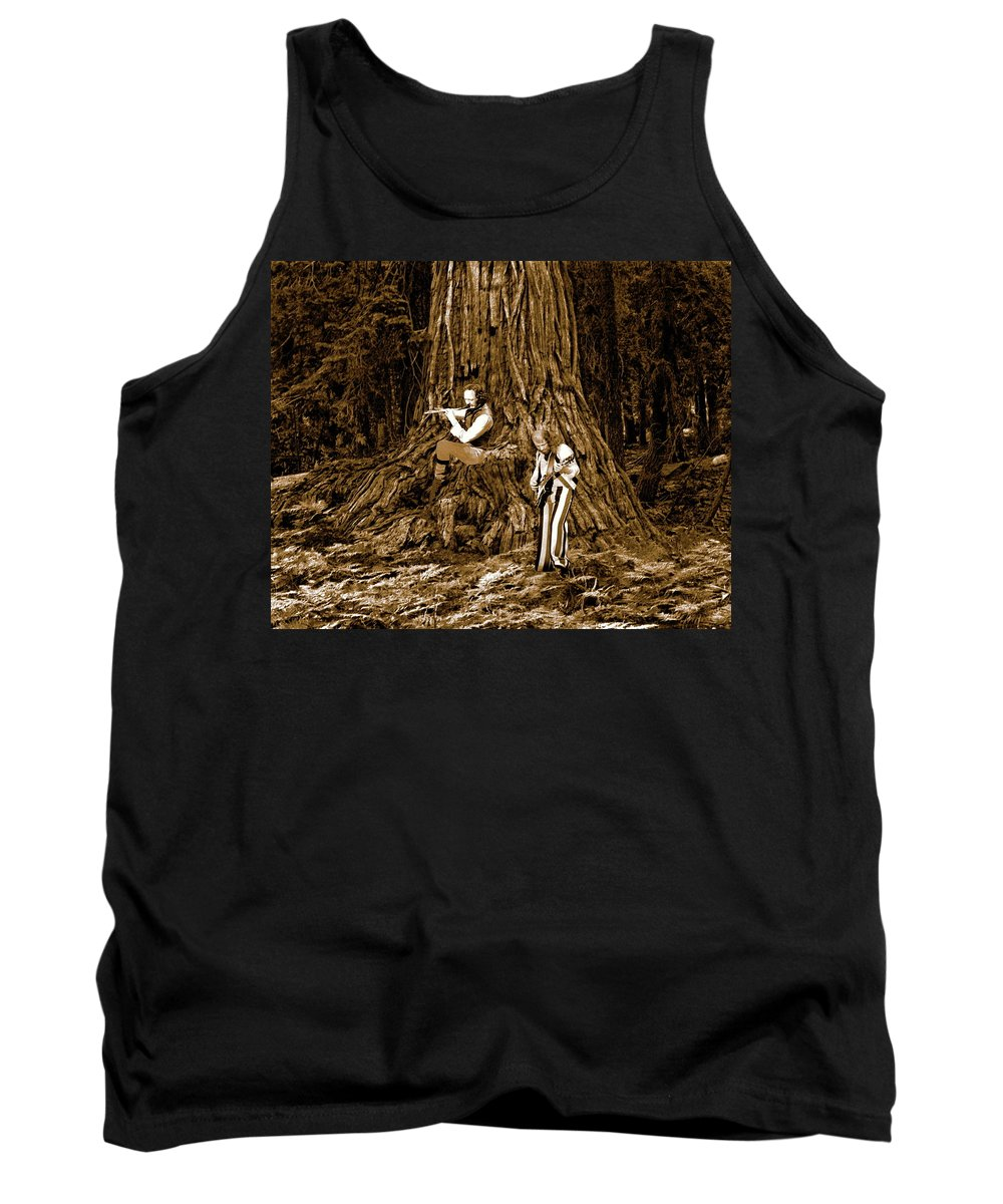 Jethro Tull Tank Top featuring the photograph Songs In The Woods 2 by Ben Upham