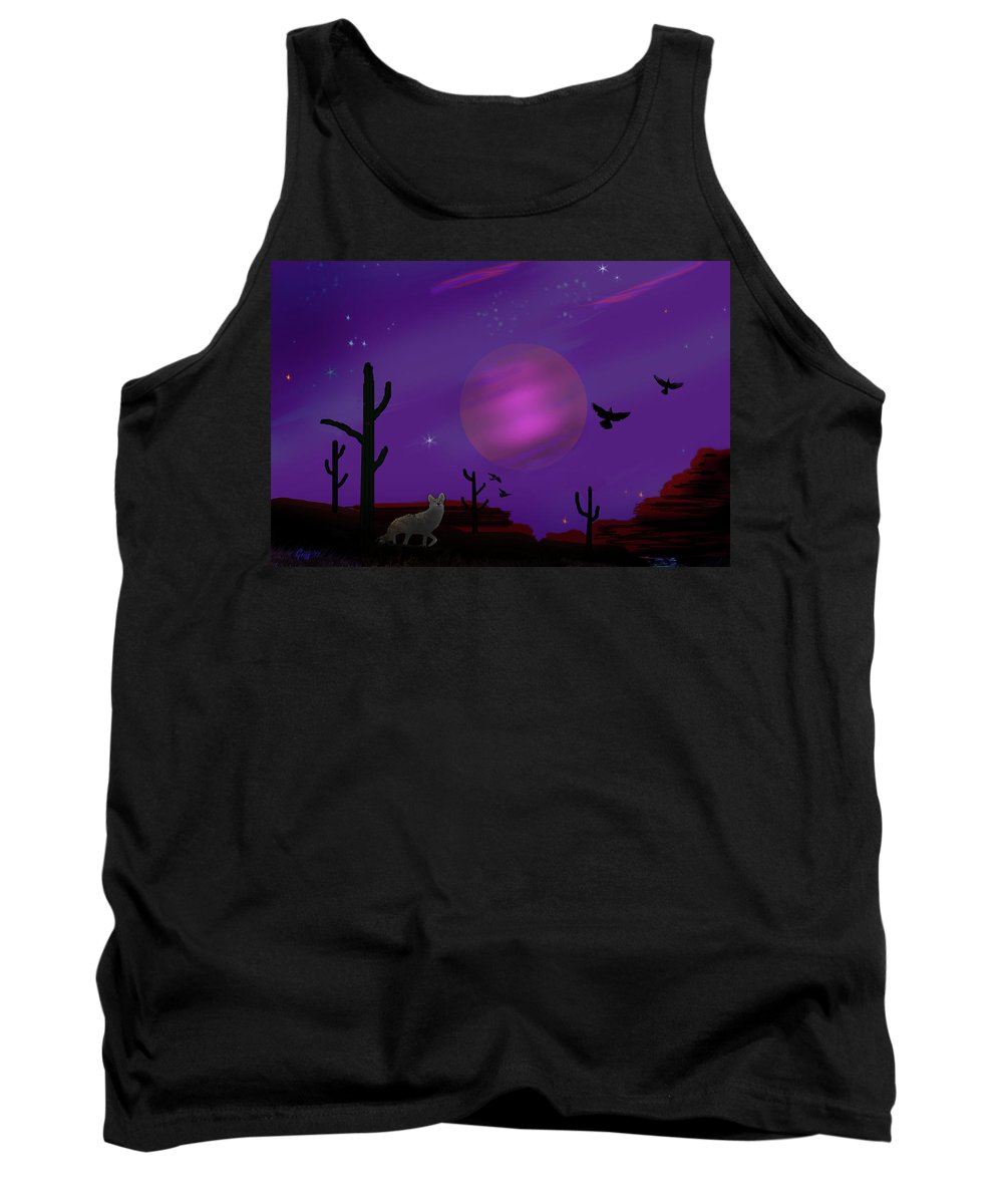 Sonoran Tank Top featuring the photograph Sonoran Lucid Dream by J Griff Griffin