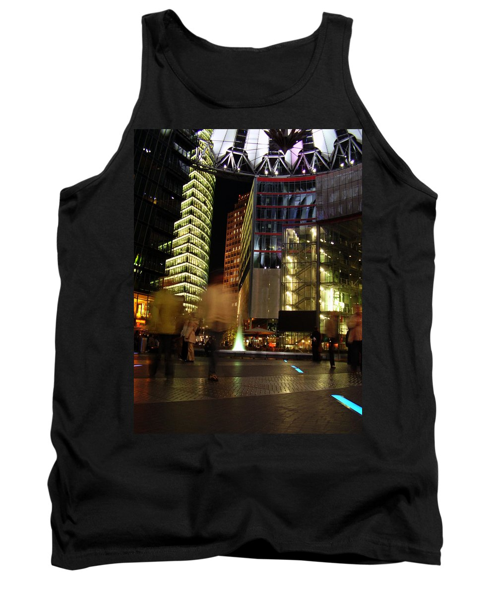 Sony Center Tank Top featuring the photograph Sony Center by Flavia Westerwelle
