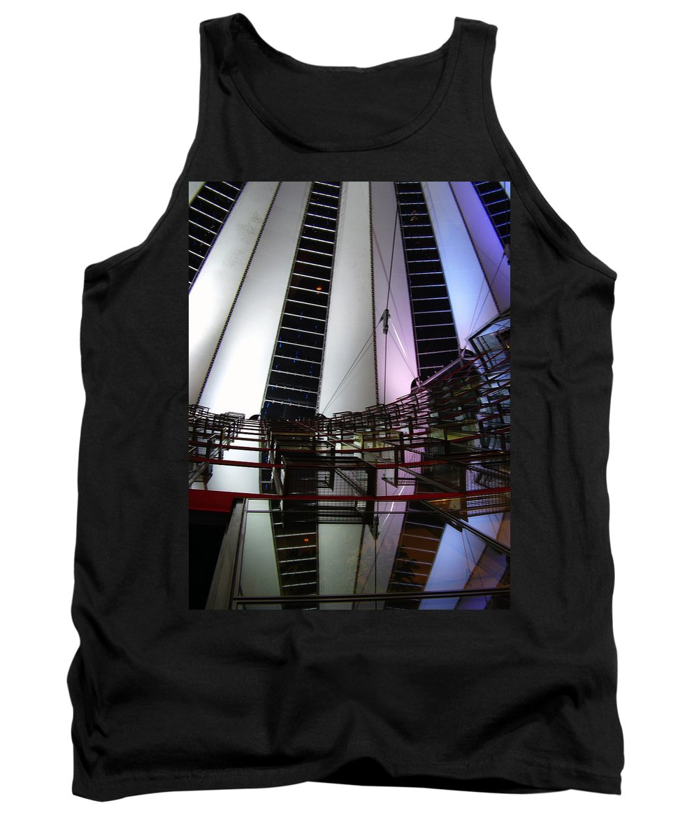 Sony Center Tank Top featuring the photograph Sony Center II by Flavia Westerwelle