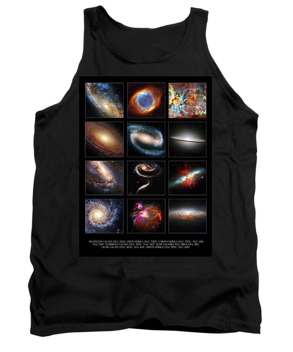 Meathook Tank Top featuring the photograph Space Beauties by Ricky Barnard