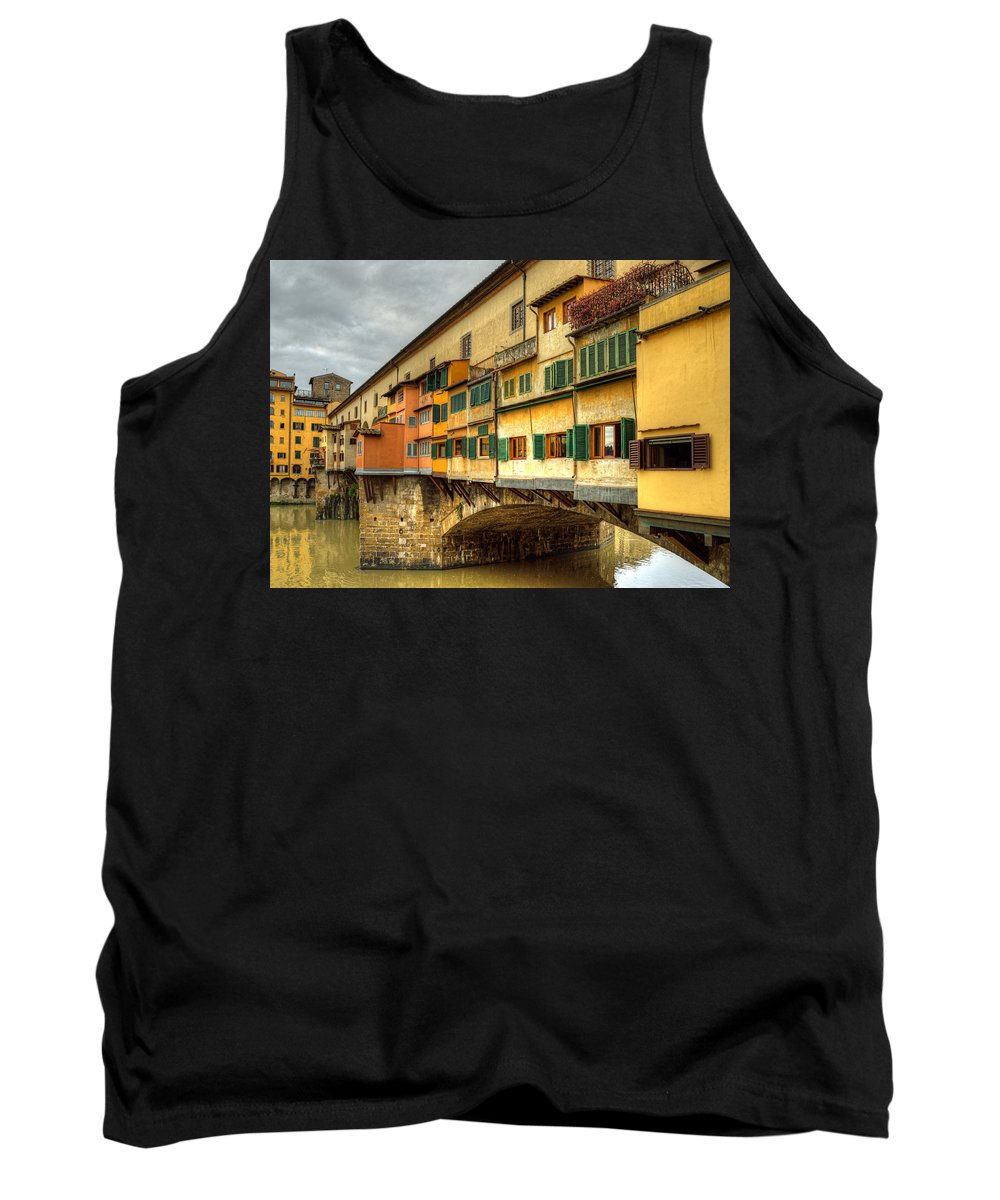 Shutters Tank Top featuring the photograph Span by Darin Williams