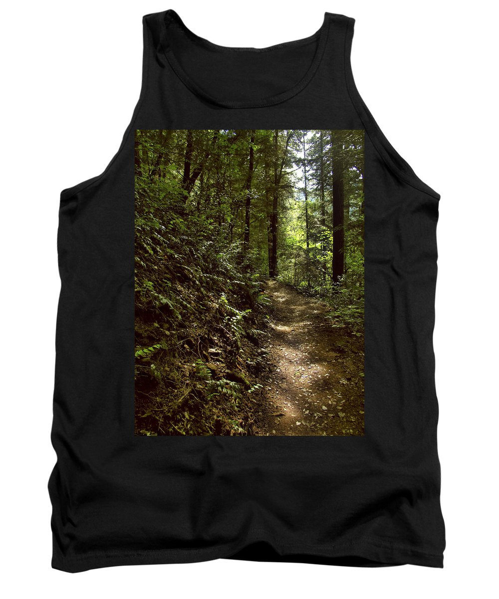 Landscape Tank Top featuring the photograph Spirit Of The Wood by Karen W Meyer