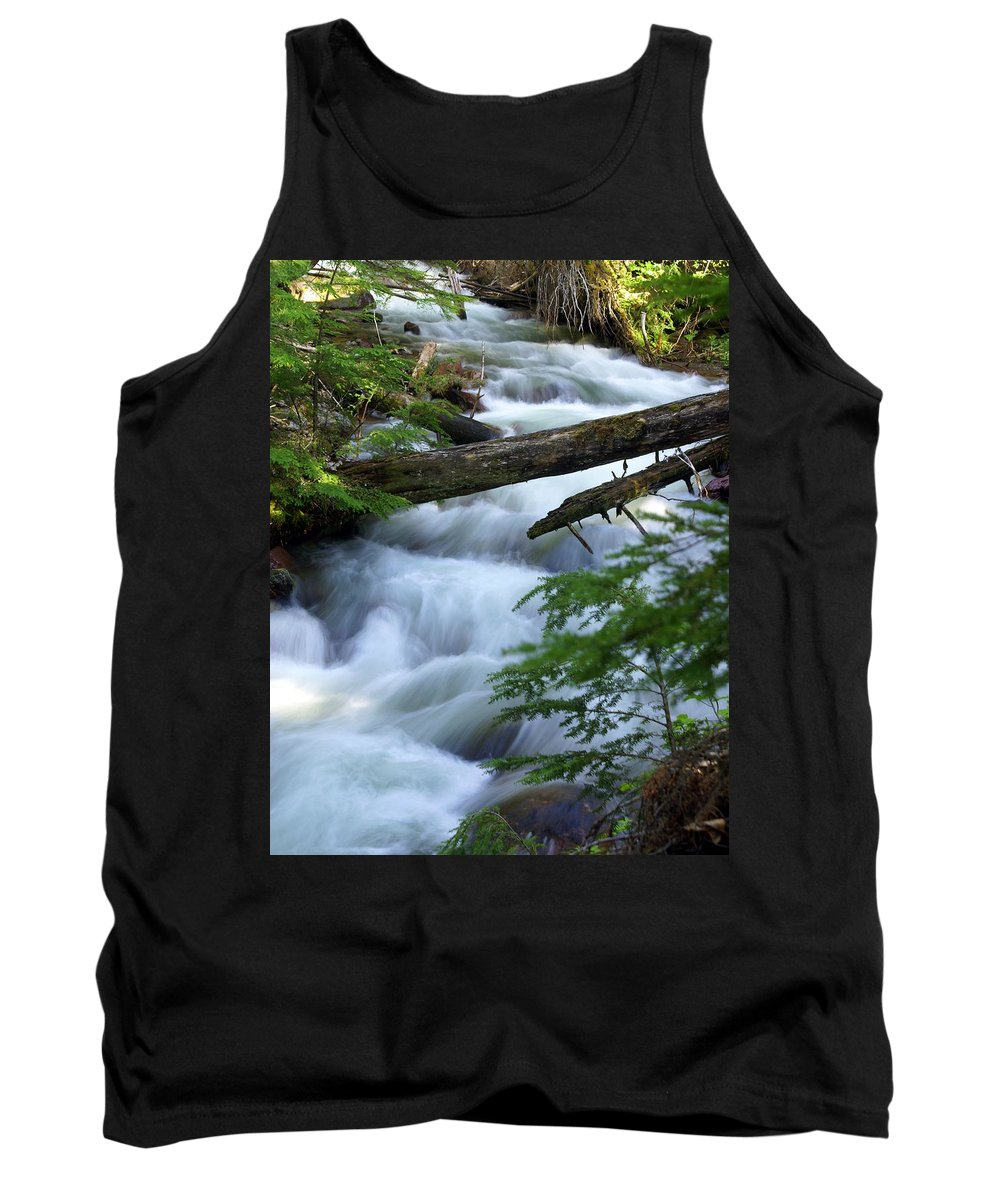 Glacier National Park Tank Top featuring the photograph Sprague Creek Glacier National Park by Marty Koch