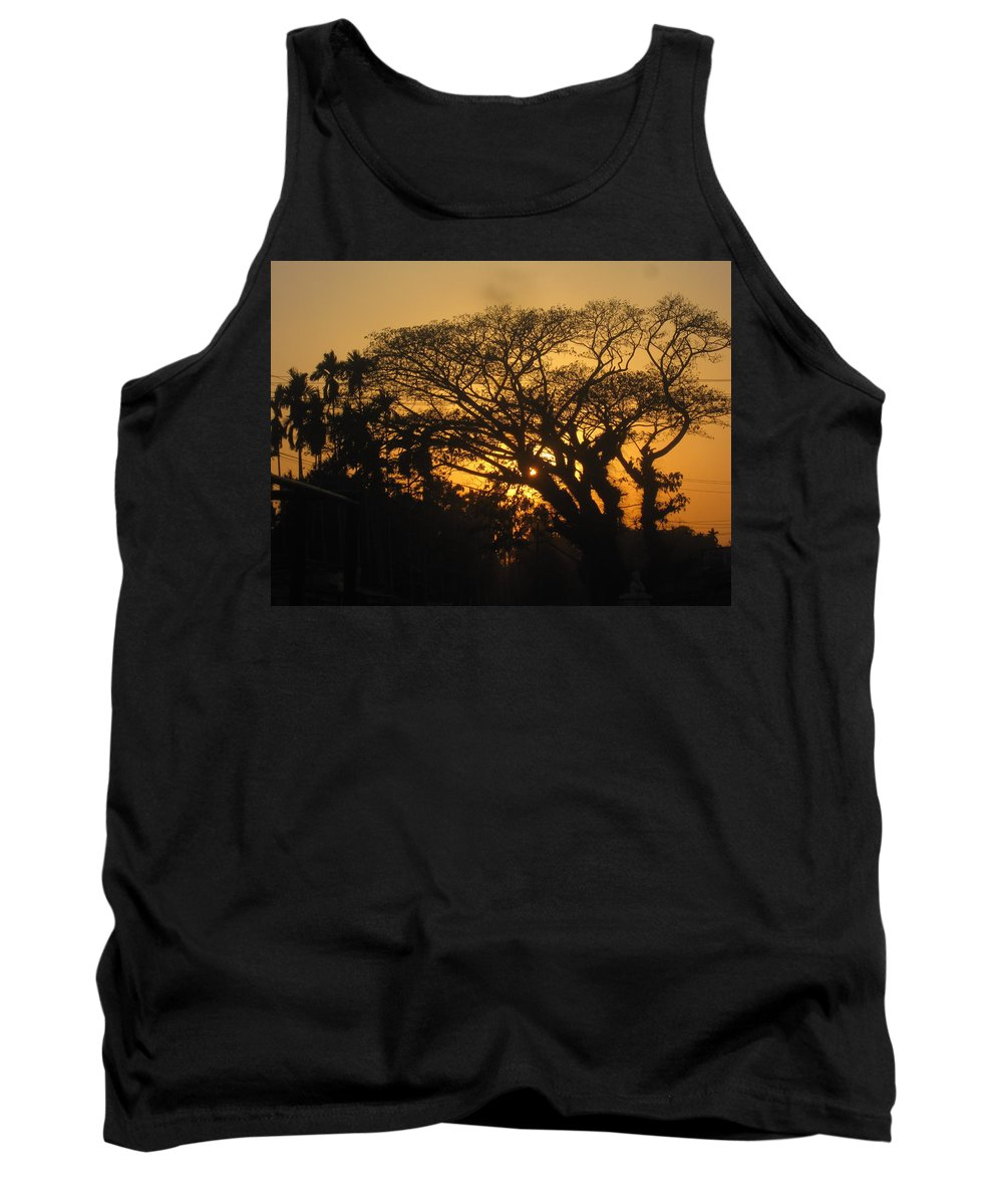 Spring Tank Top featuring the photograph Spring Evening by Utpal Datta
