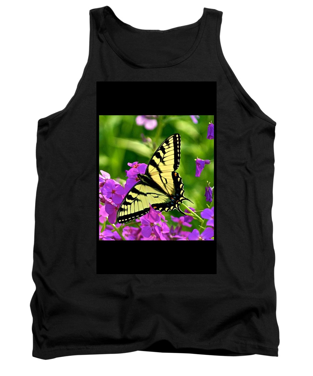 Butterfly Tank Top featuring the photograph Spring Glory by Robert Pearson