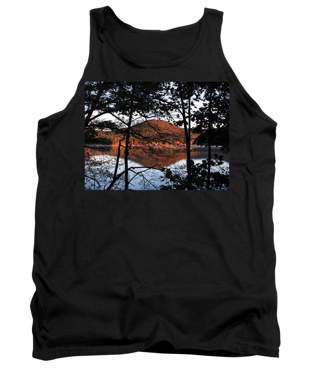 Big Squam Lake Tank Top featuring the photograph Squam Lake 1 by Michael Mooney