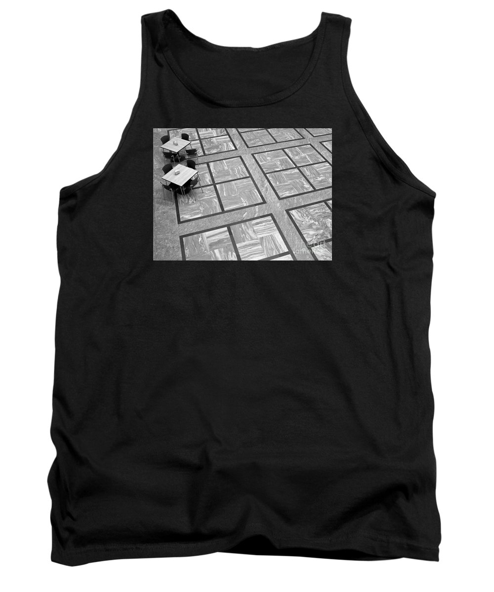 Squares Tank Top featuring the photograph Squared by Ann Horn
