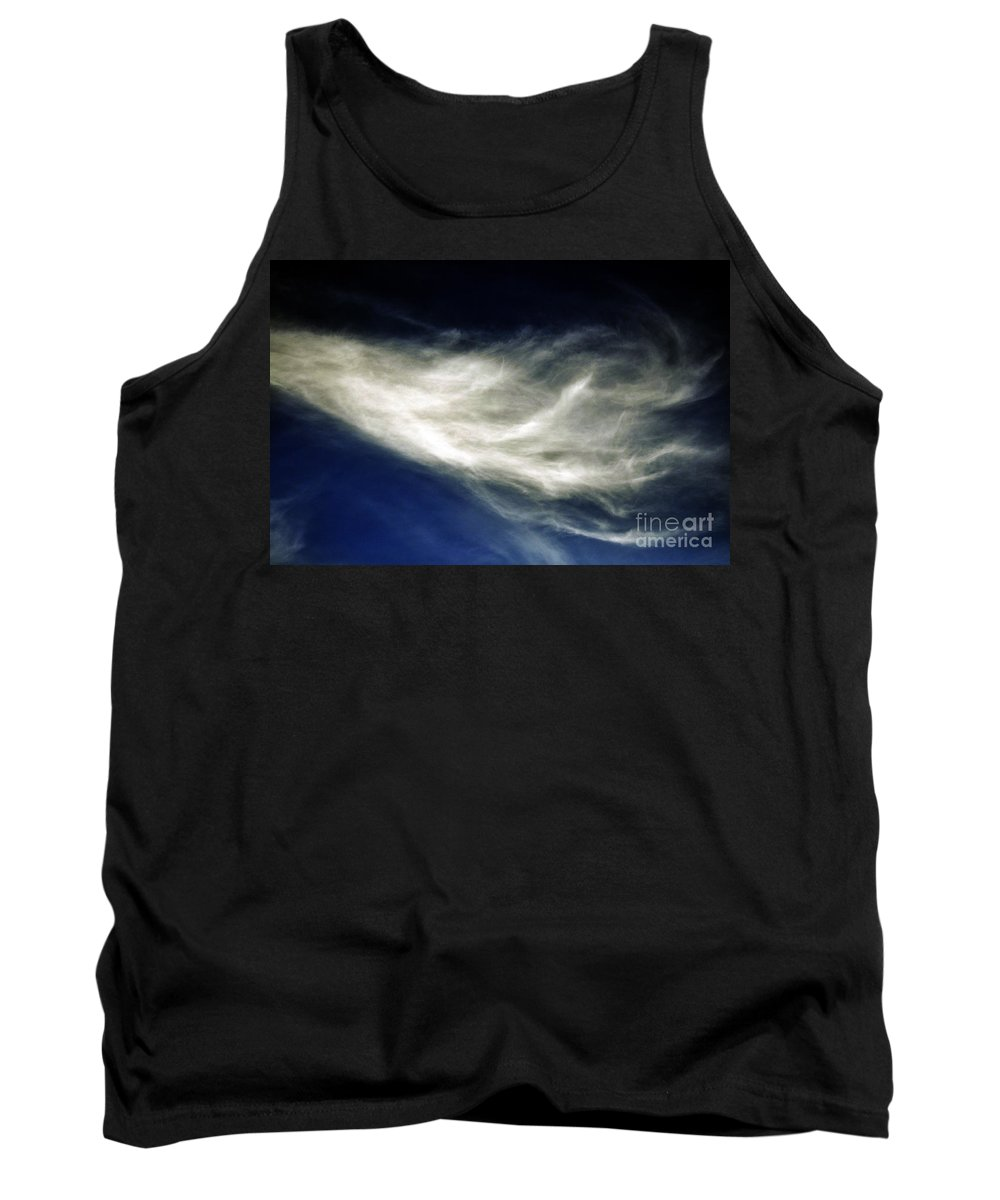 Clay Tank Top featuring the photograph Squid Cloud by Clayton Bruster
