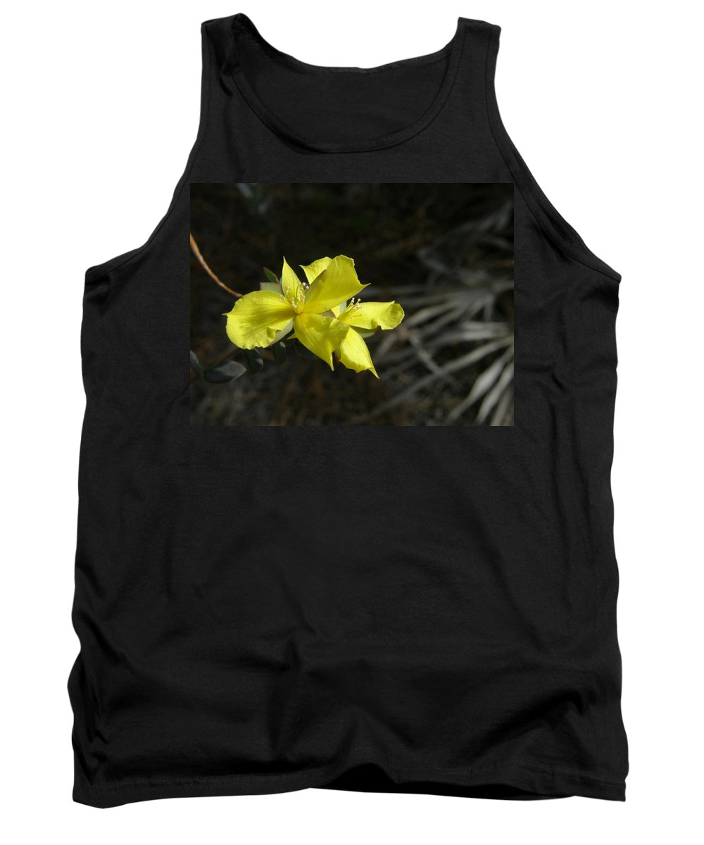 Flower Tank Top featuring the photograph St. John by Kimberly Mohlenhoff