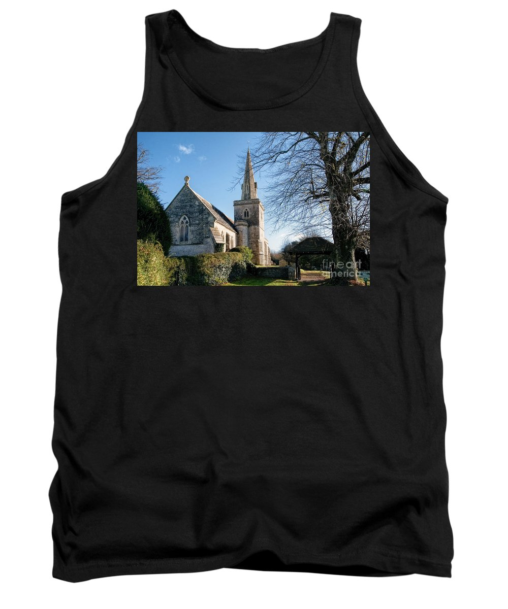 Little-bredy Tank Top featuring the photograph St Michael And All Angels Church -- Little Bredy by Susie Peek