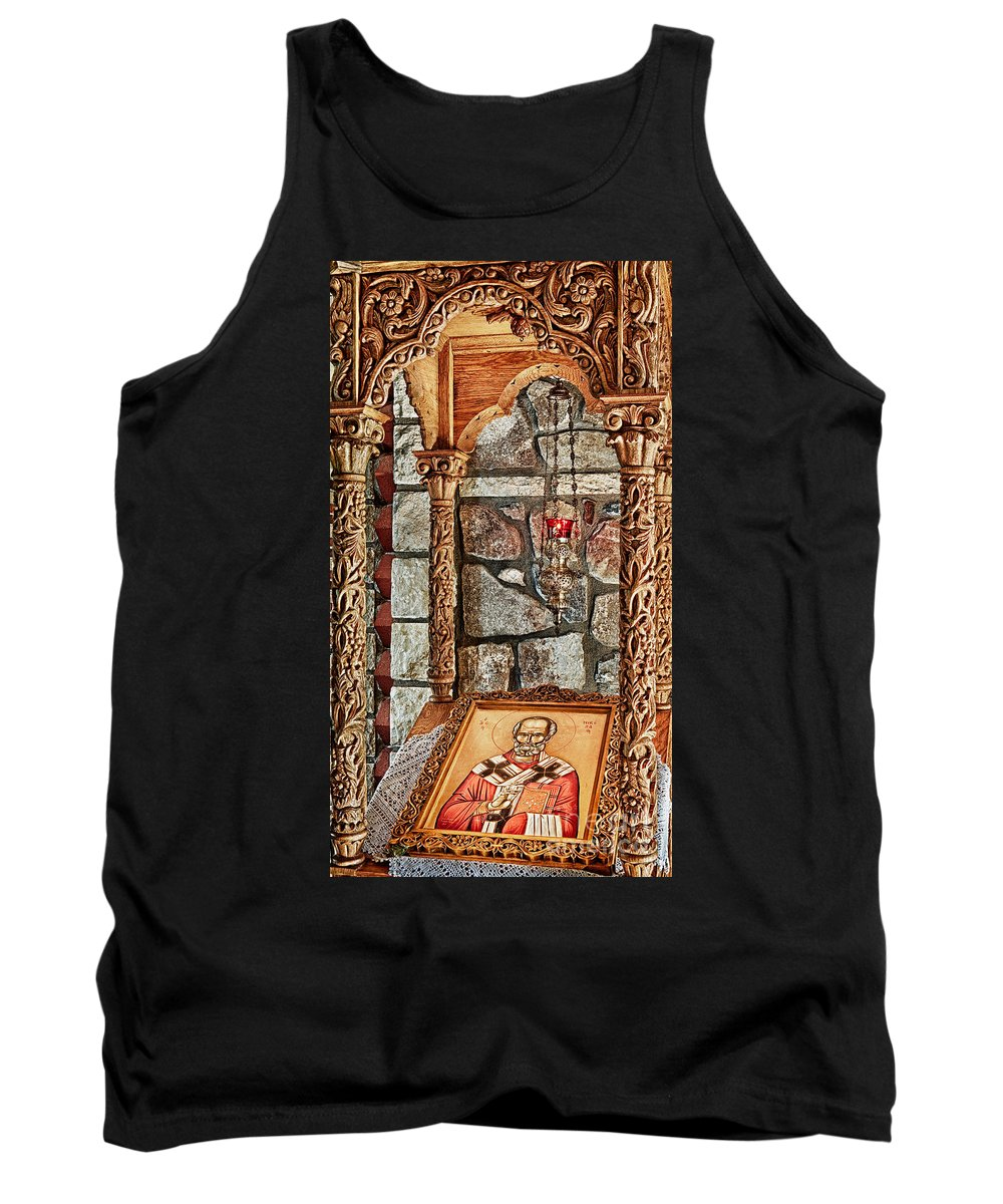 Florence Tank Top featuring the photograph St. Nicholas Chapel Iv by Matt Suess