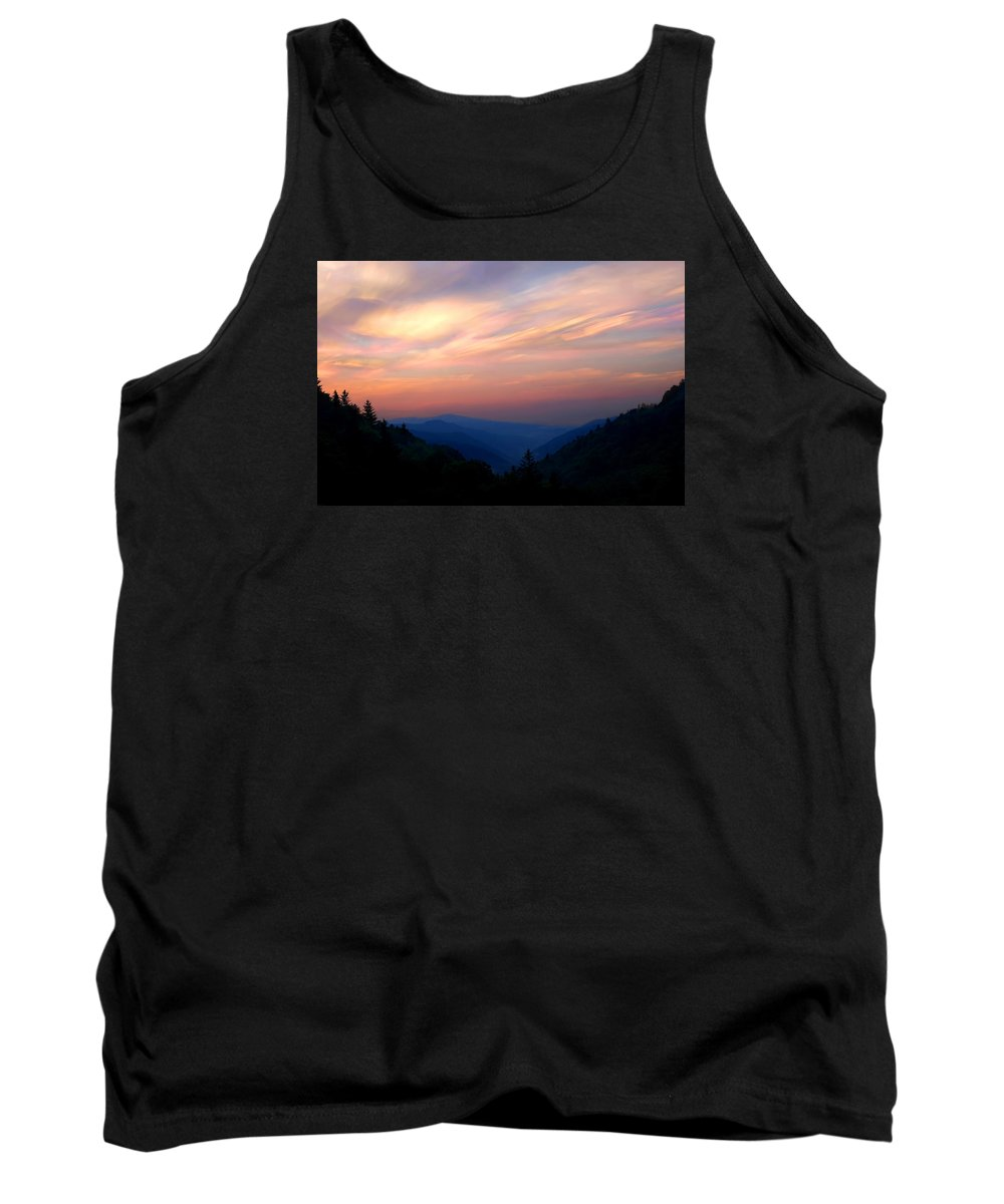 Sunrise Tank Top featuring the photograph Stacked Sunrise by Don Keisling