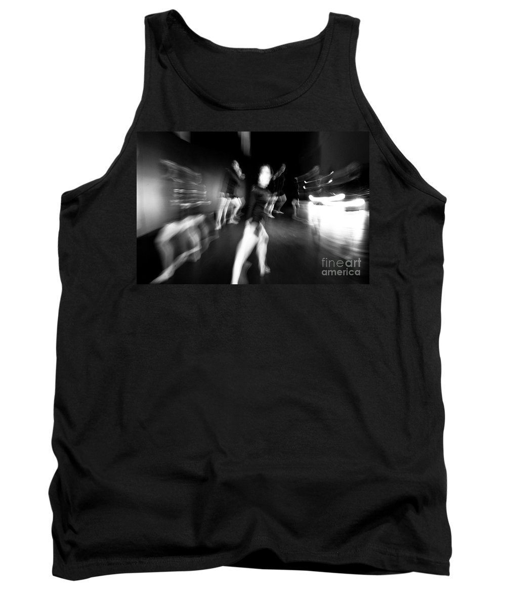 Moden Dance Tank Top featuring the photograph Stage Zoom - 1 by Scott Sawyer