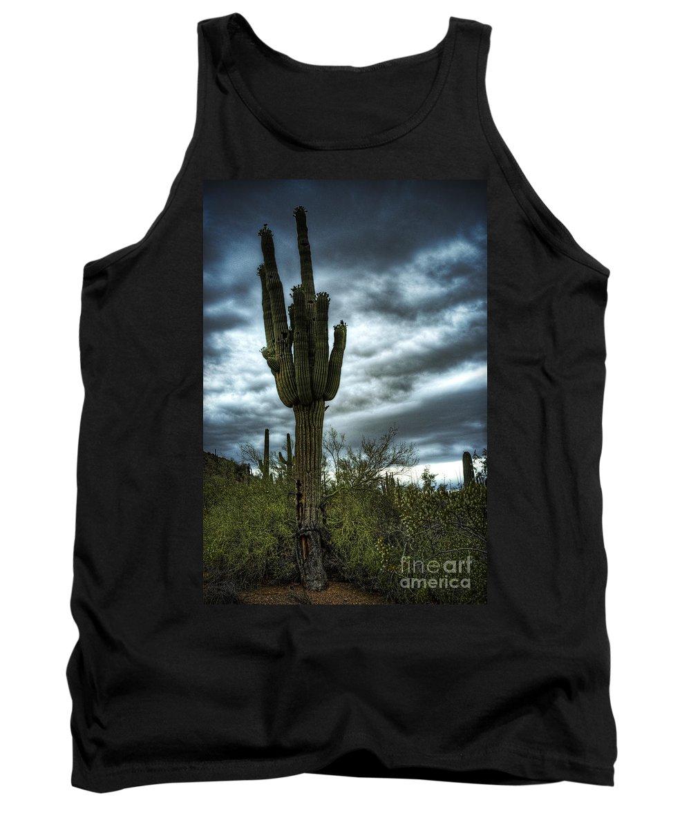 Arizona Tank Top featuring the photograph Stand Tall by Saija Lehtonen