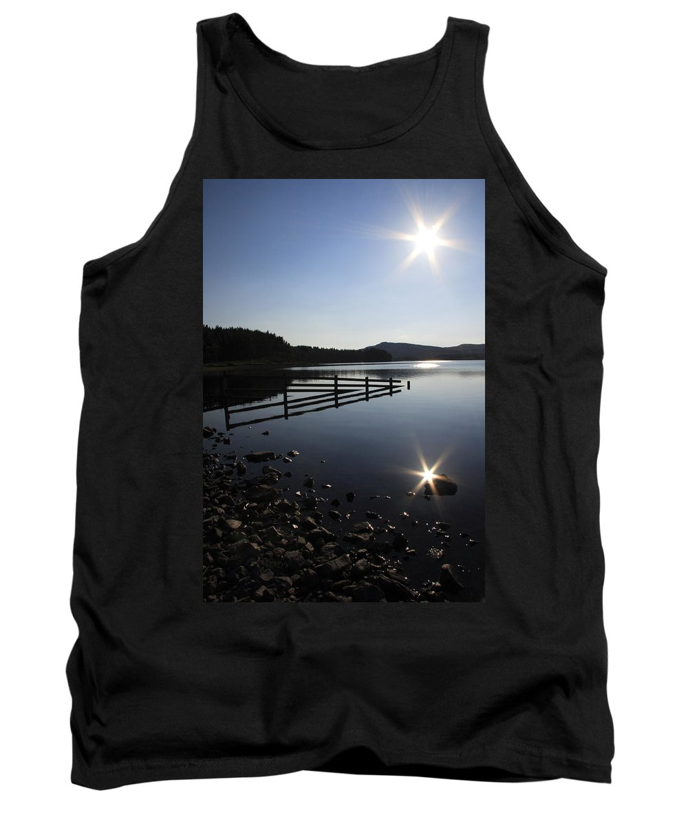 Sun Tank Top featuring the photograph Starburst by Phil Crean