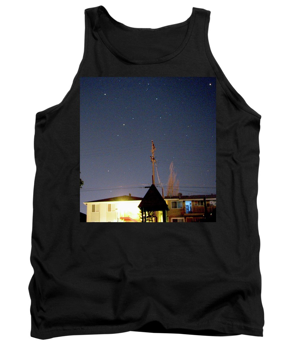 Unfamiliar Stars Tank Top featuring the photograph Stars1 by Kit Kay