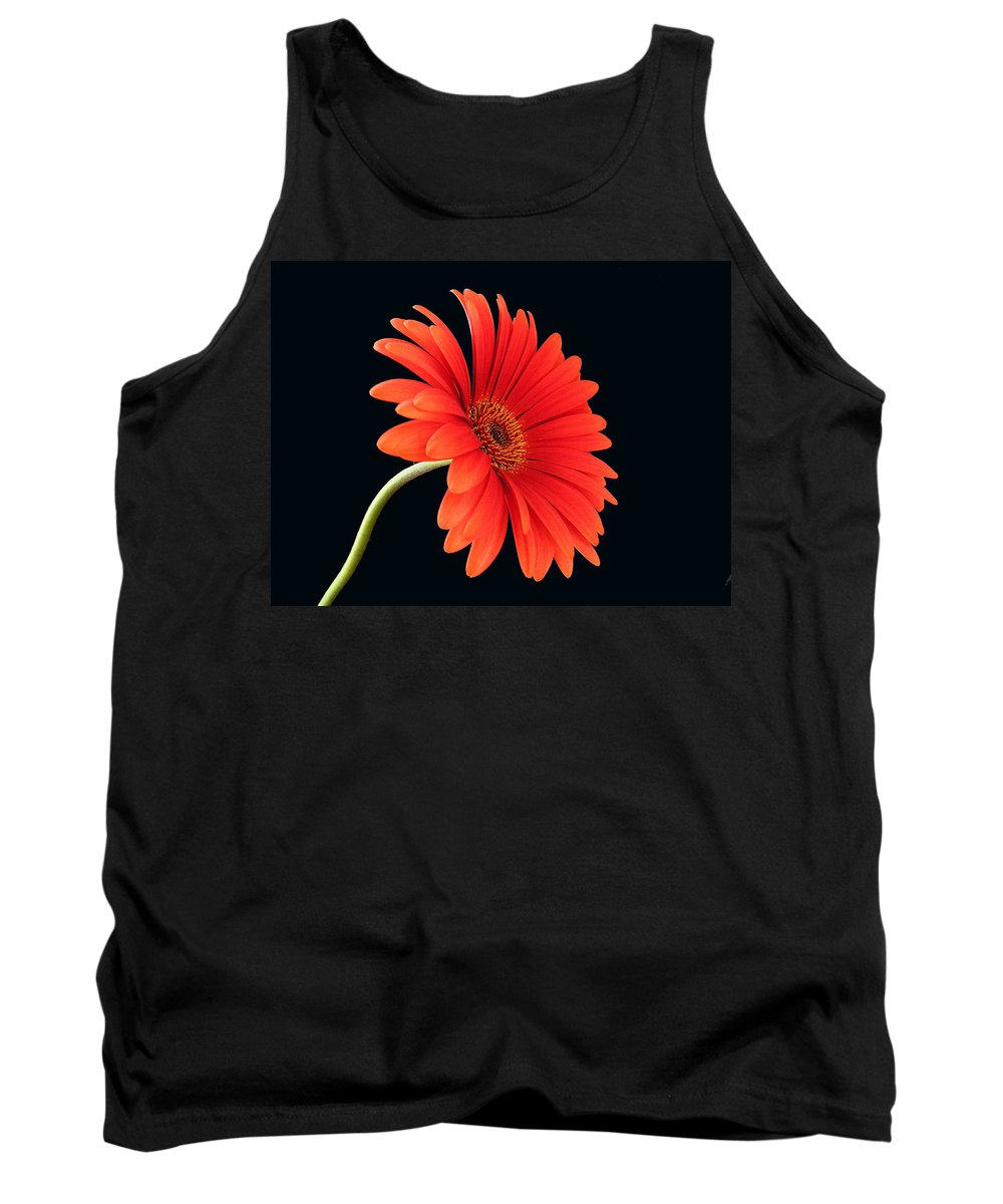 Flower Tank Top featuring the photograph Stemming Beauty by Carol Milisen
