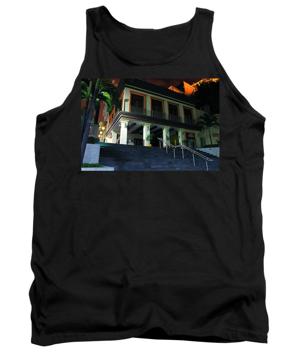 Home Tank Top featuring the photograph Stepping Up by Francisco Colon
