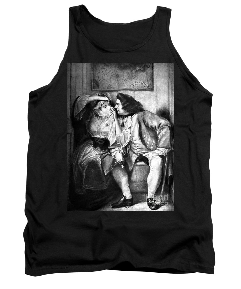 18th Century Tank Top featuring the photograph Sterne: Tristram Shandy by Granger