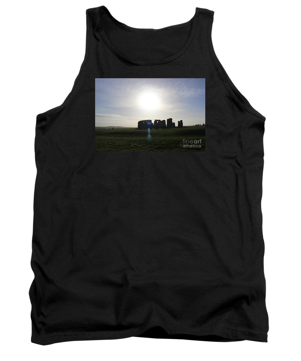 Stonhenge Tank Top featuring the photograph Stonehenge by White LensNZ