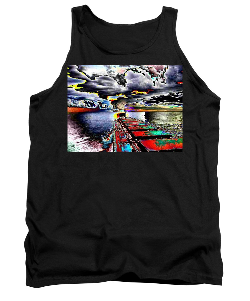 Storm Clouds Tank Top featuring the photograph Storm Warning by Tim Allen