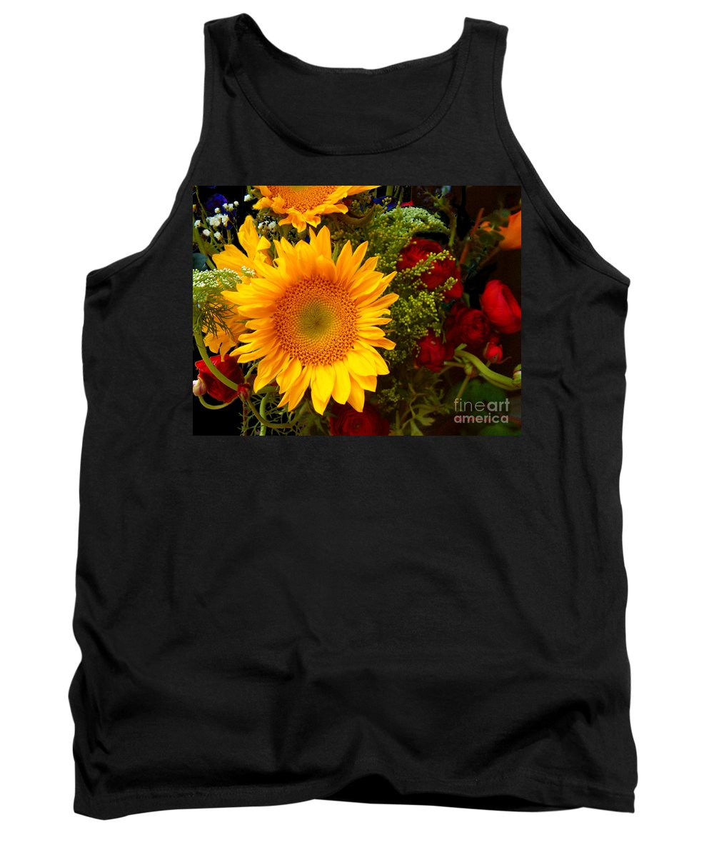 Sunflower Tank Top featuring the photograph Straight No Chaser by RC DeWinter