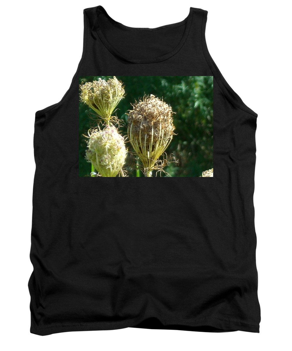 Tank Top featuring the photograph Strange Flowers by Line Gagne