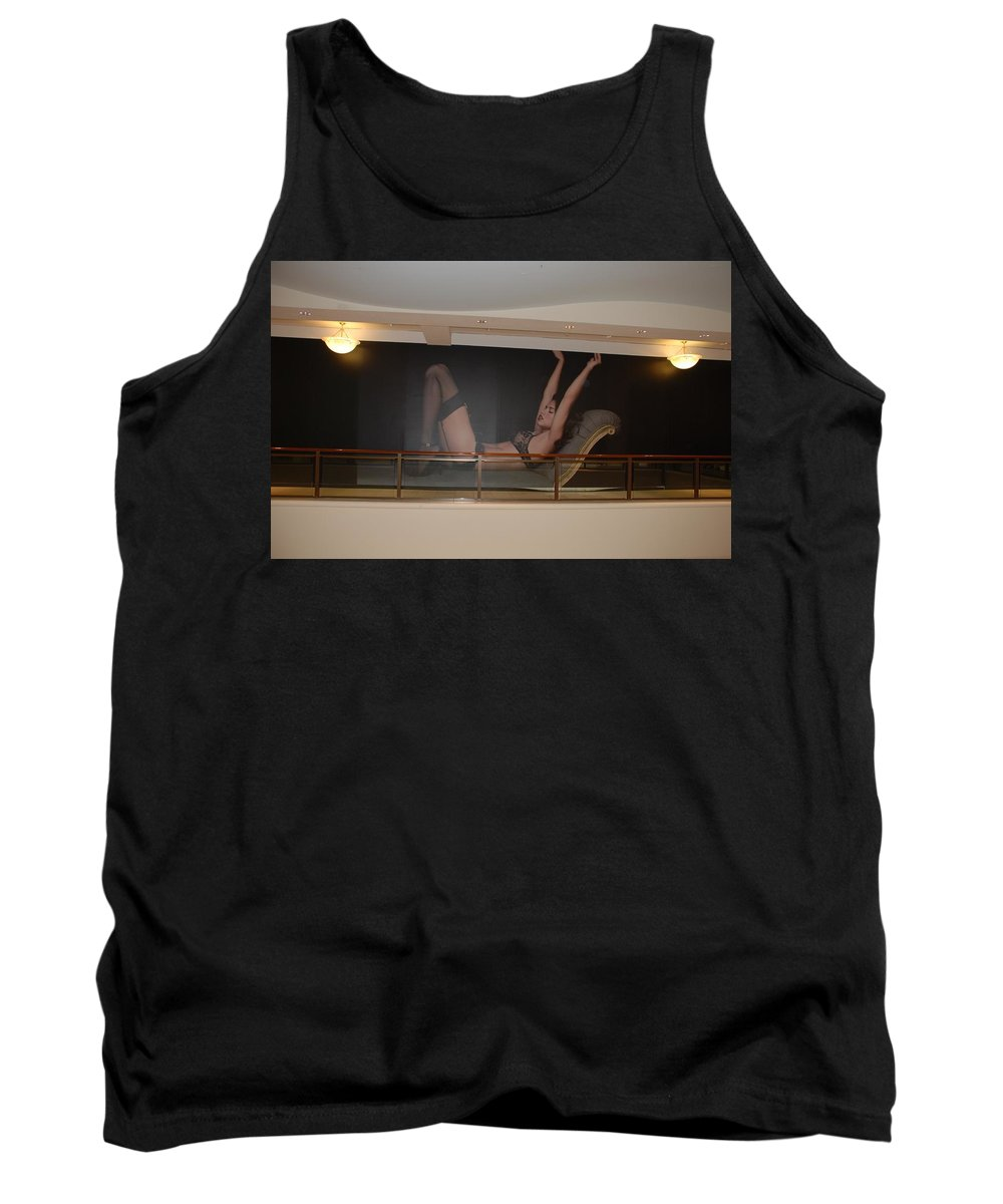 Sexy Tank Top featuring the photograph Streeeeching by Rob Hans