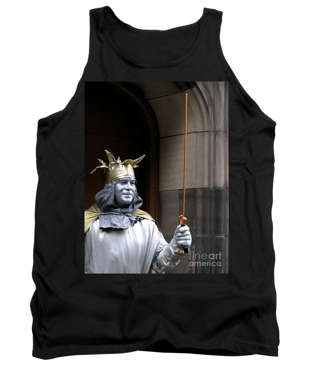 Street Performer Tank Top featuring the photograph Street Performer by Amanda Barcon