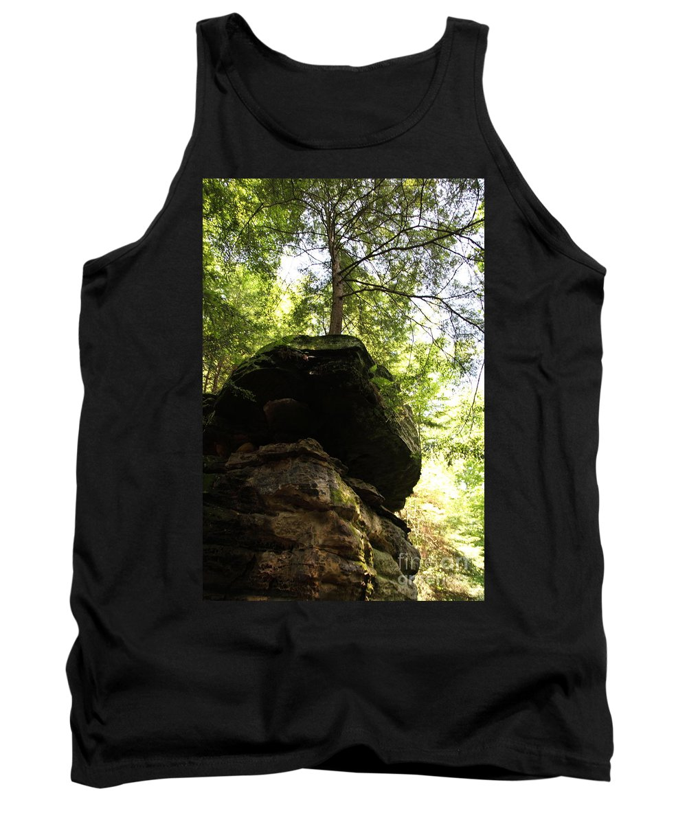 Tree Tank Top featuring the photograph Strength by Amanda Barcon